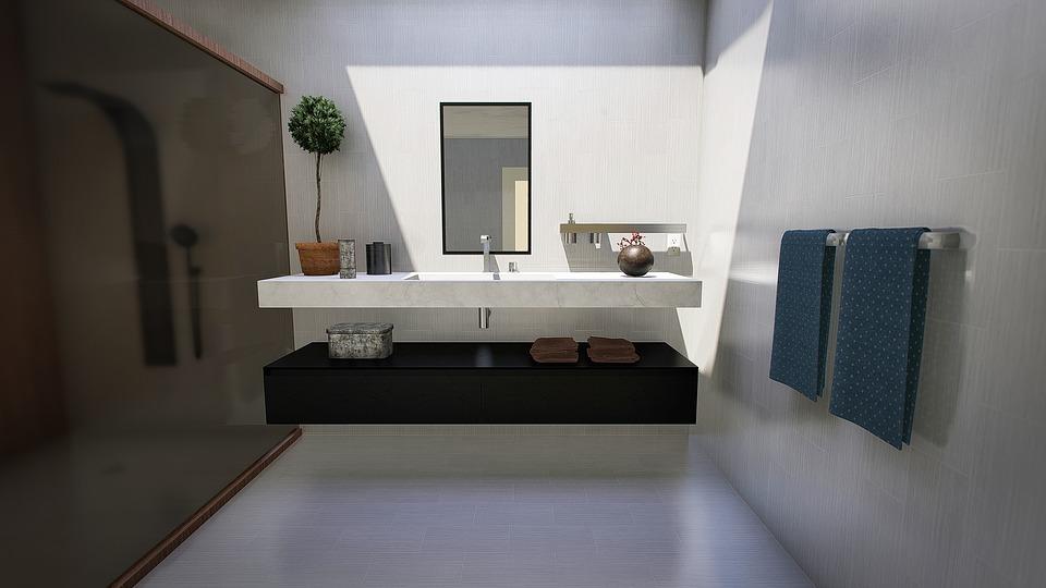 urządzenie łazienki może być proste