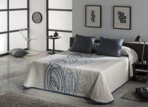 narzuty na łóżko do sypialni nowoczesne